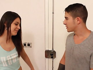 LECHE 69 Cute Latina teen gets torn up hard