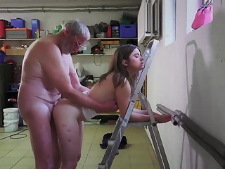 Elder Grandfather Fucks Gina Gerson And Her Girlfriend In Xxx